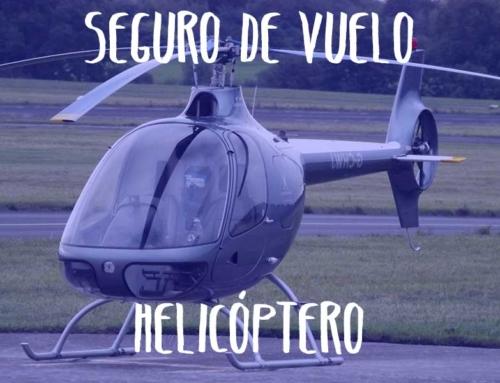 Seguro de vuelo en helicóptero