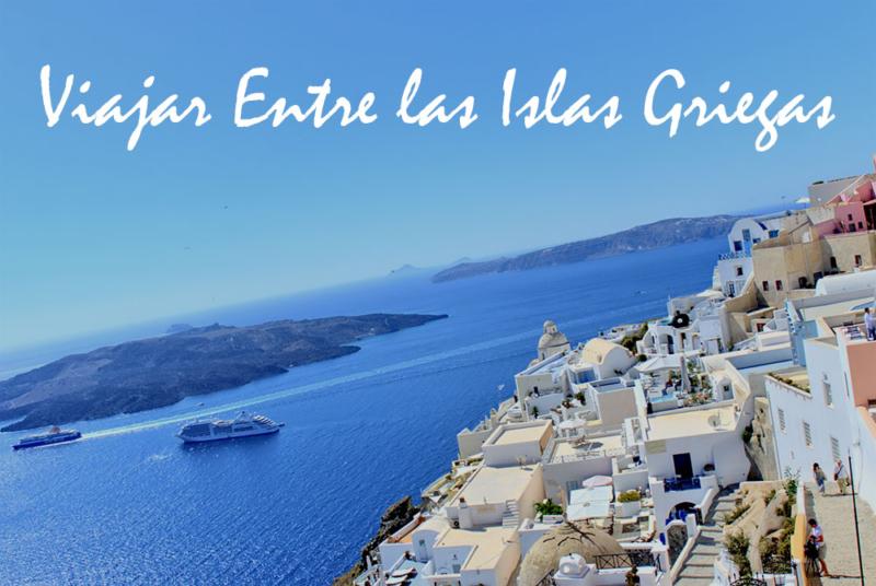 viajar entre las islas griegas